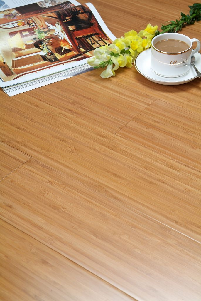 Country Wood Flooring Vertical Carbonized